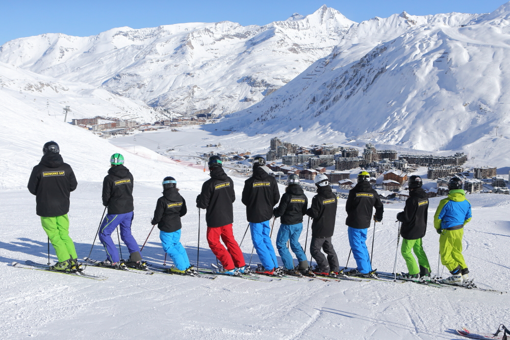Ski Instructor GAP course in Tignes