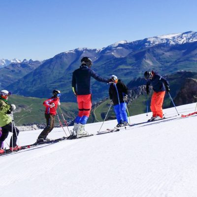 summer ski courses tignes with Snoworks