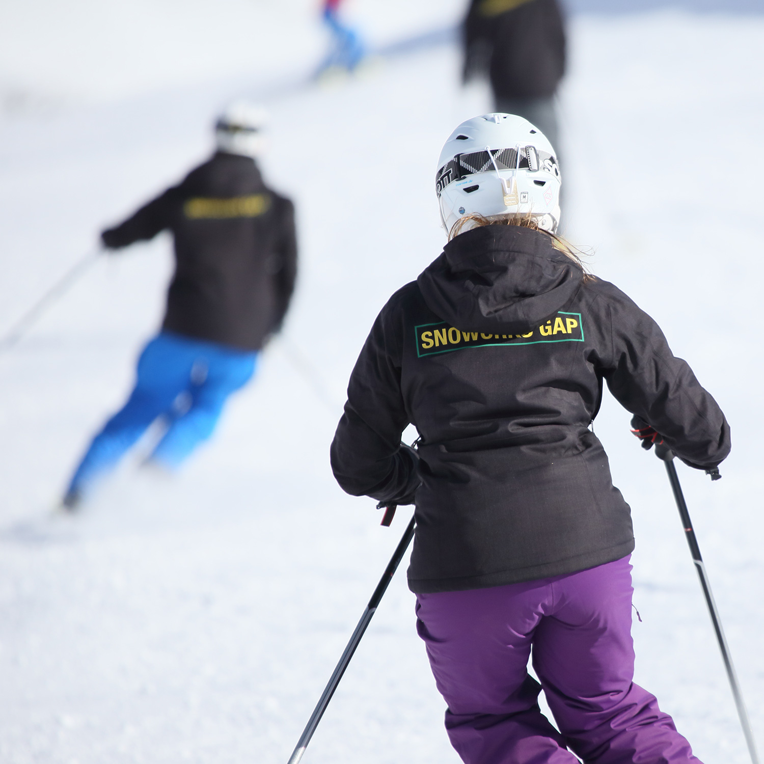 Snoworks GAP ski instructor courses