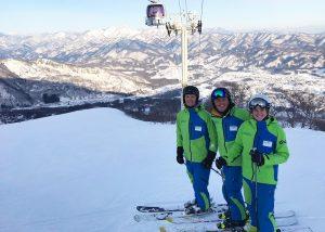 Snoworks GAP Class 2018 teaching in Japan