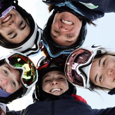 Trainee ski instructors