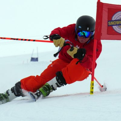 Giant Slalom Ski Training